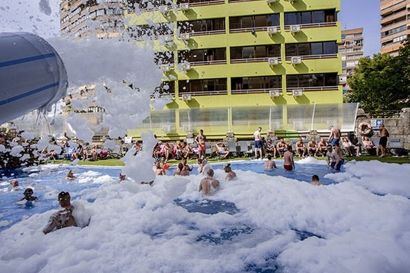 Pool party benidorm celebrations ™ music resort (adults only) apartments
