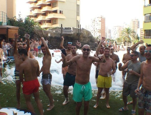 Outdoor pool Benidorm Celebrations™ Pool Party Resort (Adults Only) Apartamentos