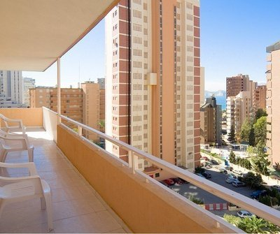 Apartment Superior (Living Room + 1 Bedroom + Terrace) 4/6 Benidorm Celebrations™ Pool Party Resort (Adults Only) Apartamentos