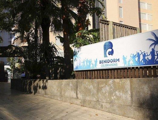 FACHADA Benidorm Celebrations™ Pool Party Resort (Adults Only) Apartamentos