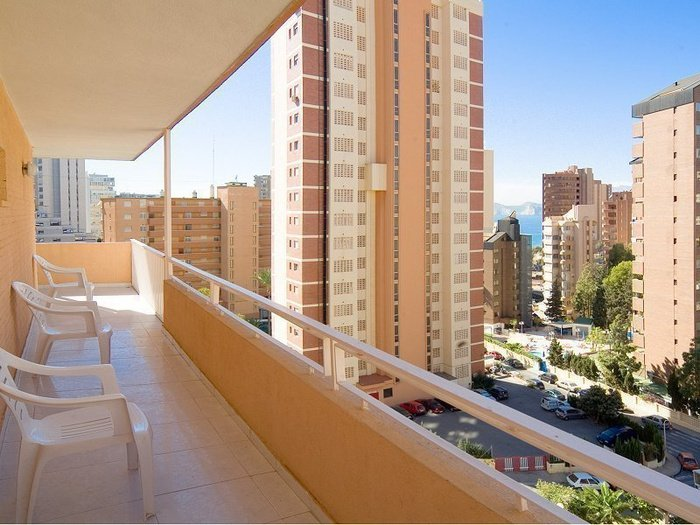 Apartment superior (living room + 1 bedroom + terrace) 6/6 benidorm celebrations ™ music resort (adults only) apartments