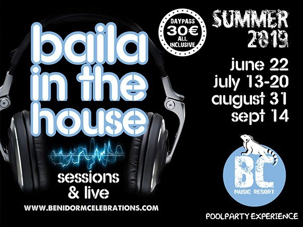 Dance  in the house benidorm celebrations™ music resort (adults only) apartments