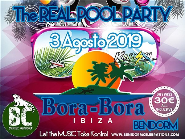 Bora bora party benidorm celebrations™ music resort (adults only) apartments