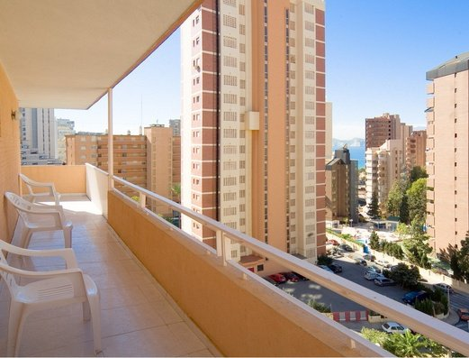 Views from terrace Benidorm Celebrations™ Pool Party Resort (Adults Only) Apartamentos